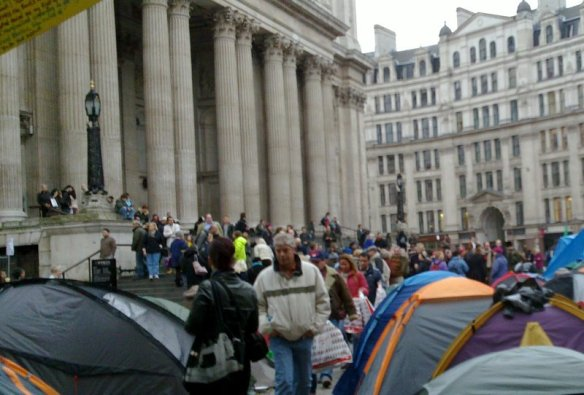 St Pauls tent city